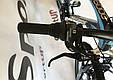 """Горный велосипед CROSSRIDE CROSS 6000 МТВ 26"""" Черный/Голубой, фото 7"""