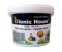 """Карнаубский масло-воск для дерева """"Bionic House"""" 1 л"""