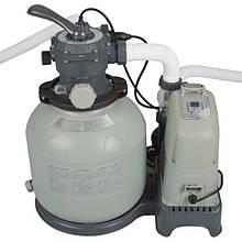 Песочные насосы с хлоргенератором Intex Bestway