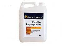 """Огнезащитная пропитка для древесины """"Firebio impregnation"""" 10л"""