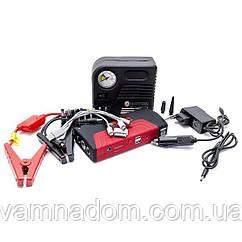 Набор пускозарядное устройство универсальное 16800 mАч. + мини компрессор. INTERTOOL AT-3010