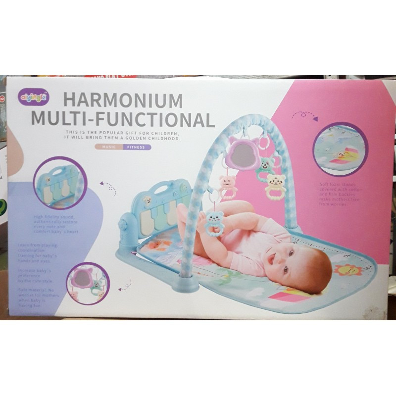 Развивающий коврик для малышей 668-35 75х45см с проектором