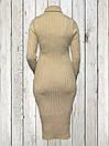 Женское платье-туника Золотистого цвета, фото 3