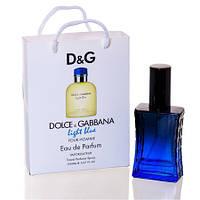 Парфюм в подарочной упаковке DOLCE & GABBANA LIGHT BLUE POUR HOMME 50 ML.