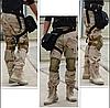 Сумка тактична на стегно SWAT, з кріпленням на пояс ForTactic чорна, фото 10