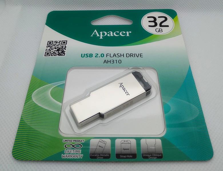 Флешка USB 2.0, 32Gb, Apacer AH310