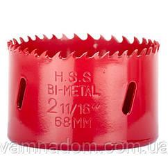 Коронка по металлу биметаллическая 68 мм INTERTOOL SD-5668