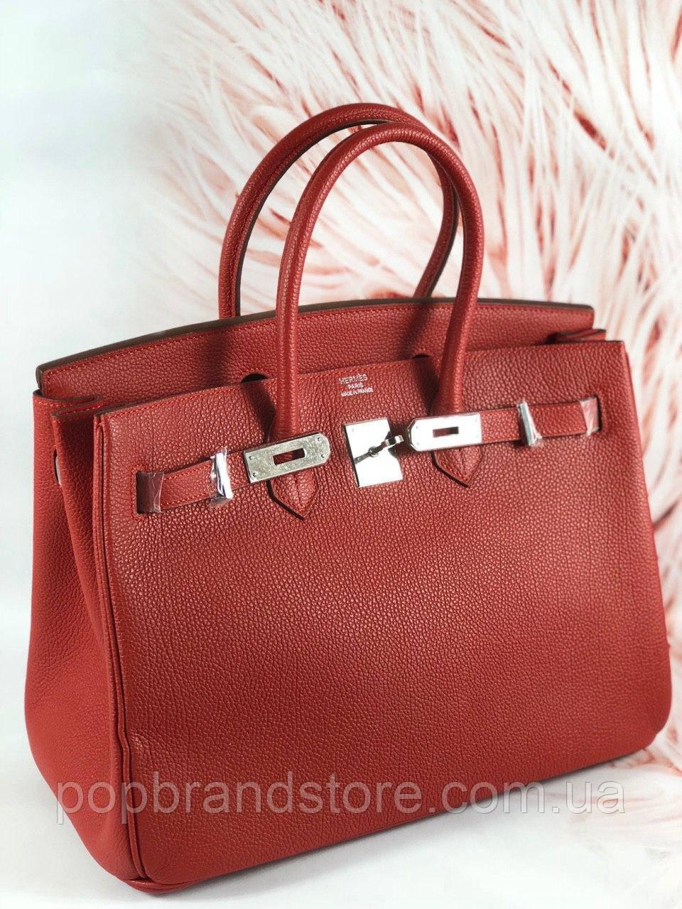 5ef173f5bbea Женская сумка Гермес Биркин 35 см (реплика) - Pop Brand Store   брендовые  сумки