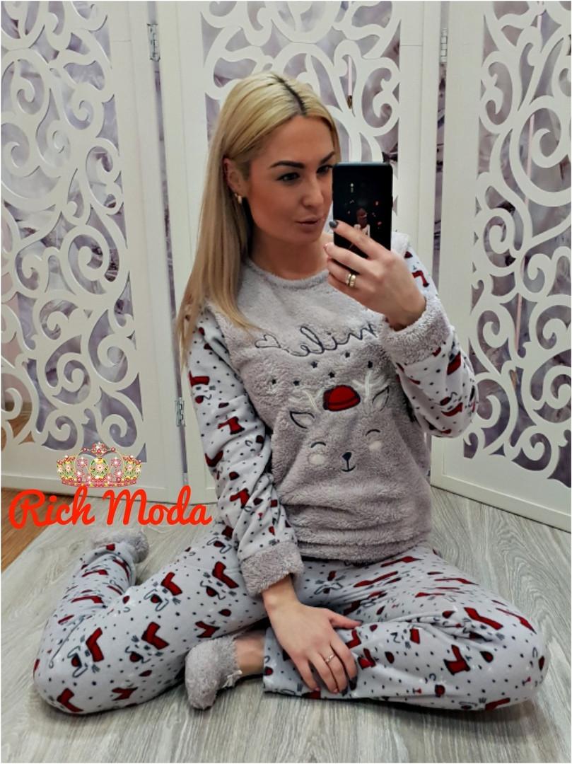 f70e03e2023b Женский теплый плюшевый домашний костюм Турция - Интернет-магазин