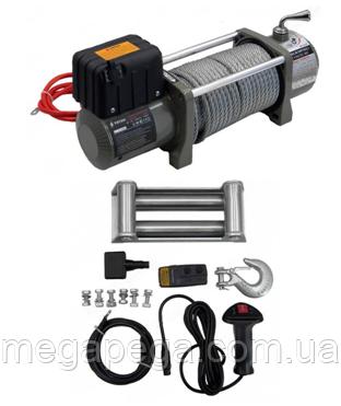 Электрическая автомобильная лебедка с пультом управления, TITAN PAL13000