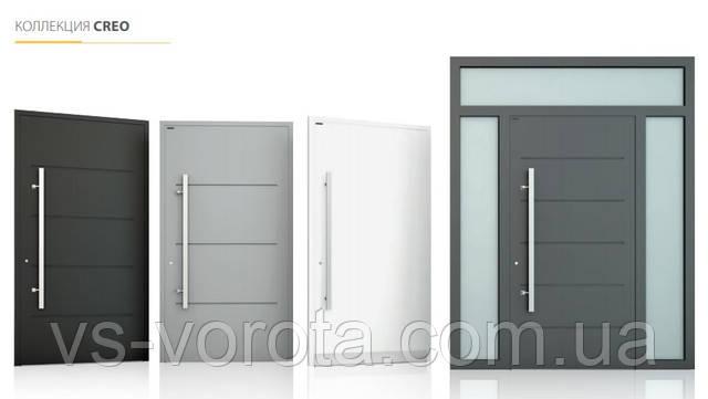 Алюминиевые уличные входные двери Польша от завода Вишневски - купить Харьков