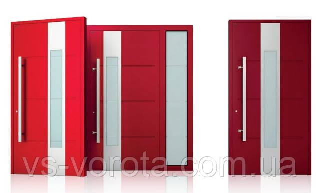 Красивые двери для дома в современном дизайне - купить алюминиевые входные системы от завода Вишневски