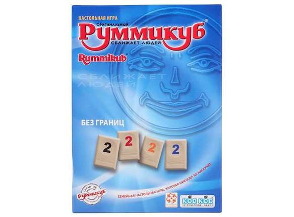 Настольная игра Руммикуб. Без границ (мини) (Rummikub Lite (Mini Tiles), фото 2