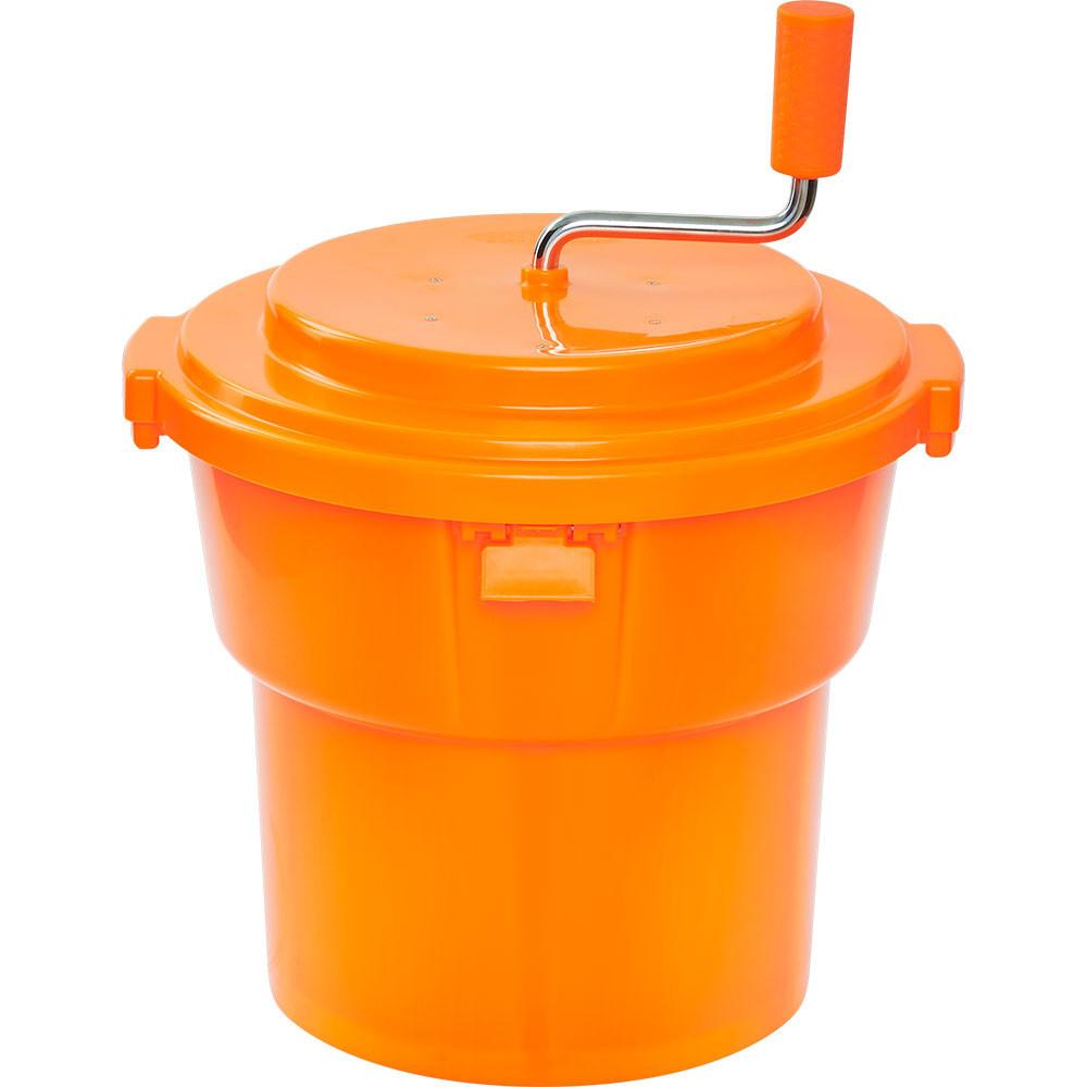 Ведро для сушки зелени 19 л. 42х58 см. пластиковое, оранжевое Stalgast