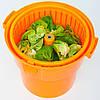 Ведро для сушки зелени 19 л. 42х58 см. пластиковое, оранжевое Stalgast, фото 3