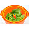 Ведро для сушки зелени 19 л. 42х58 см. пластиковое, оранжевое Stalgast, фото 5