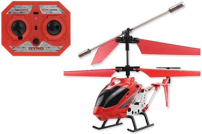 Вертолет радиоуправляемый 33008 Model King Красный