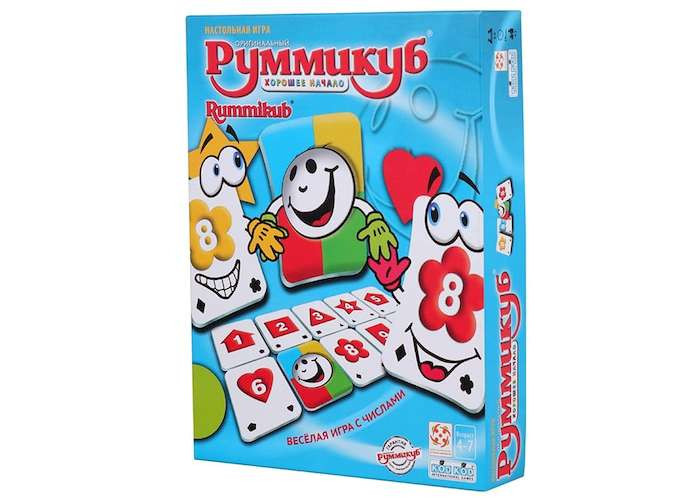 Настільна гра Руммикуб. Гарний початок (Rummikub Start Right)