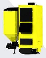 Комбинированный пеллетный котел KRONAS COMBI 42 кВт с горелкой и шнеком (дрова и пеллеты), фото 2