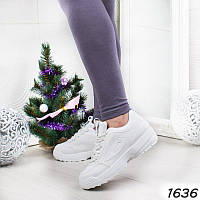 Белые женские кроссовки р 38, фото 1