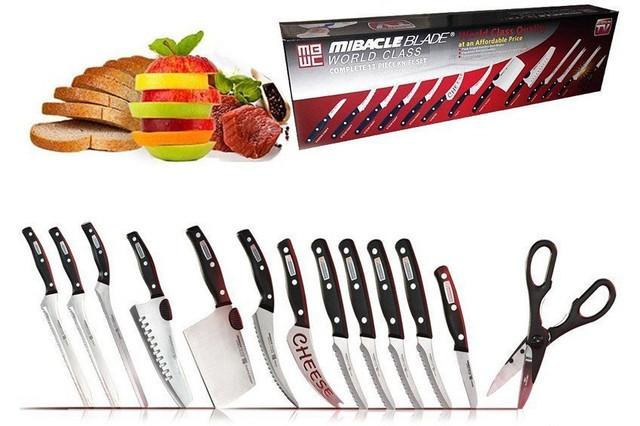 Miracle Blade World Class 13в1 - набор профессиональных ножей