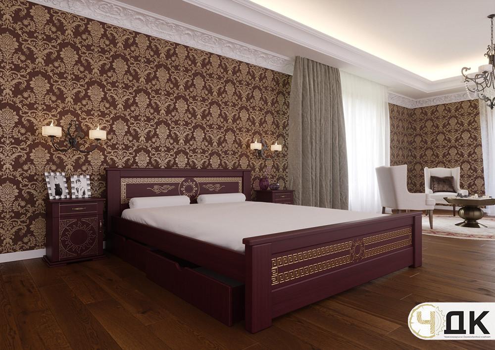 Деревянная кровать Элит ЧДК