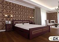 Деревянная кровать Элит ЧДК, фото 1