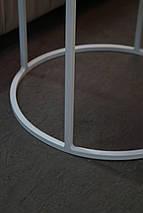 Журнальный стол Bondi на металлической опоре, фото 3