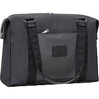 Универсальная сумка для поездок и тренировок Bagland Fashion 19 л, 33*44*13 см (черный)