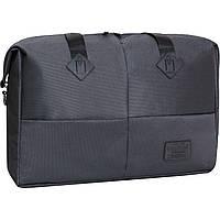 Универсальная серая сумка для поездок и тренировок Bagland Леонора 30 л, 35*50*17 см