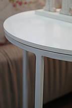 Журнальный стол Bondi на металлической опоре, фото 2