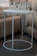 Прикроватный  столик Bondi на металлической опоре, фото 3