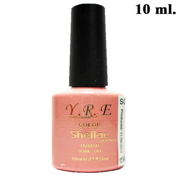 Гель-лак для Ногтей 10 мл. Тон Красивый Розовый SCL - 003, Шеллак, Маникюр, Ногти