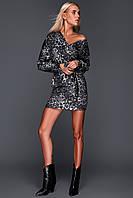 Стильное молодежное короткое платье 42-44,44-46р., фото 1