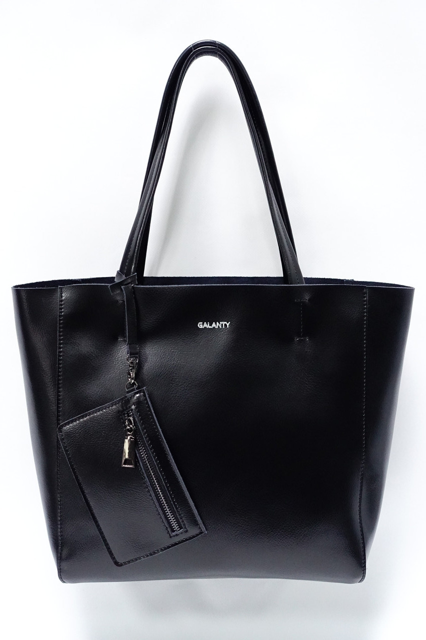 d630613dfd3b Женская кожаная сумка Galanty 10654 black: продажа, цена в Полтаве ...