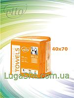 Полотенца нарезные 40х70 сетка (50 шт/уп.), Еtto