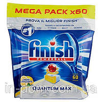 Finish Quantum Max Superior Powerball Lemon таблетки для посудомоечных машин  Лимон 60 шт.