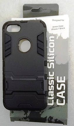 Силіконовий чохол Armor Case iPhone 7 Black, фото 2