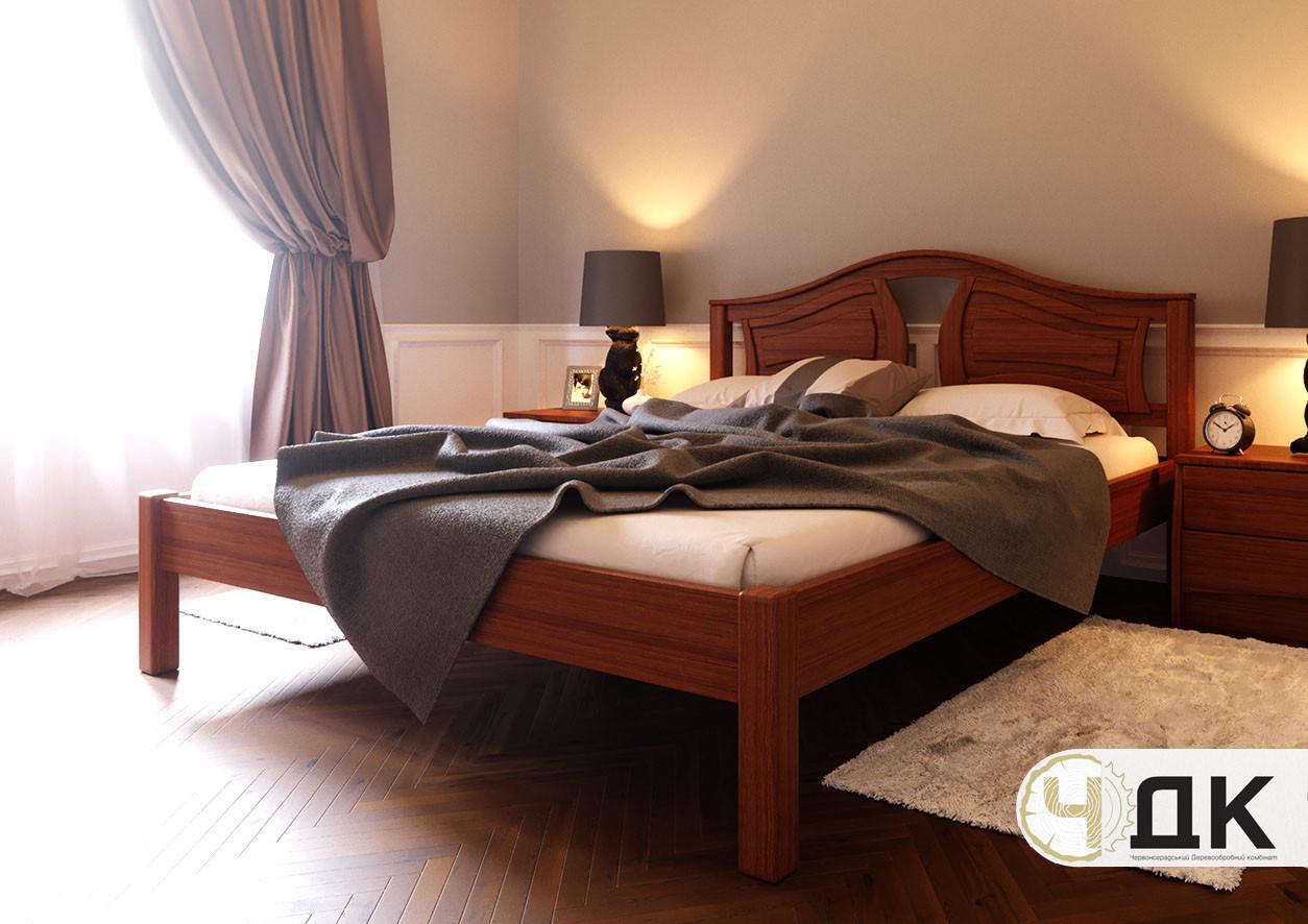 Деревянная кровать Италия ЧДК