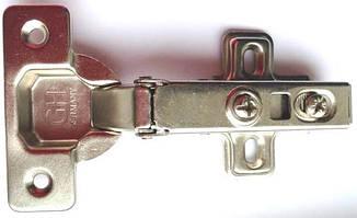 Мебельные петли с доводчиком системы clip-on