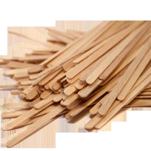 Мешалка деревянная 800шт.