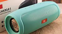 Портативная акустическая система JBL Charge 4, бирюзовая, реплика, фото 1