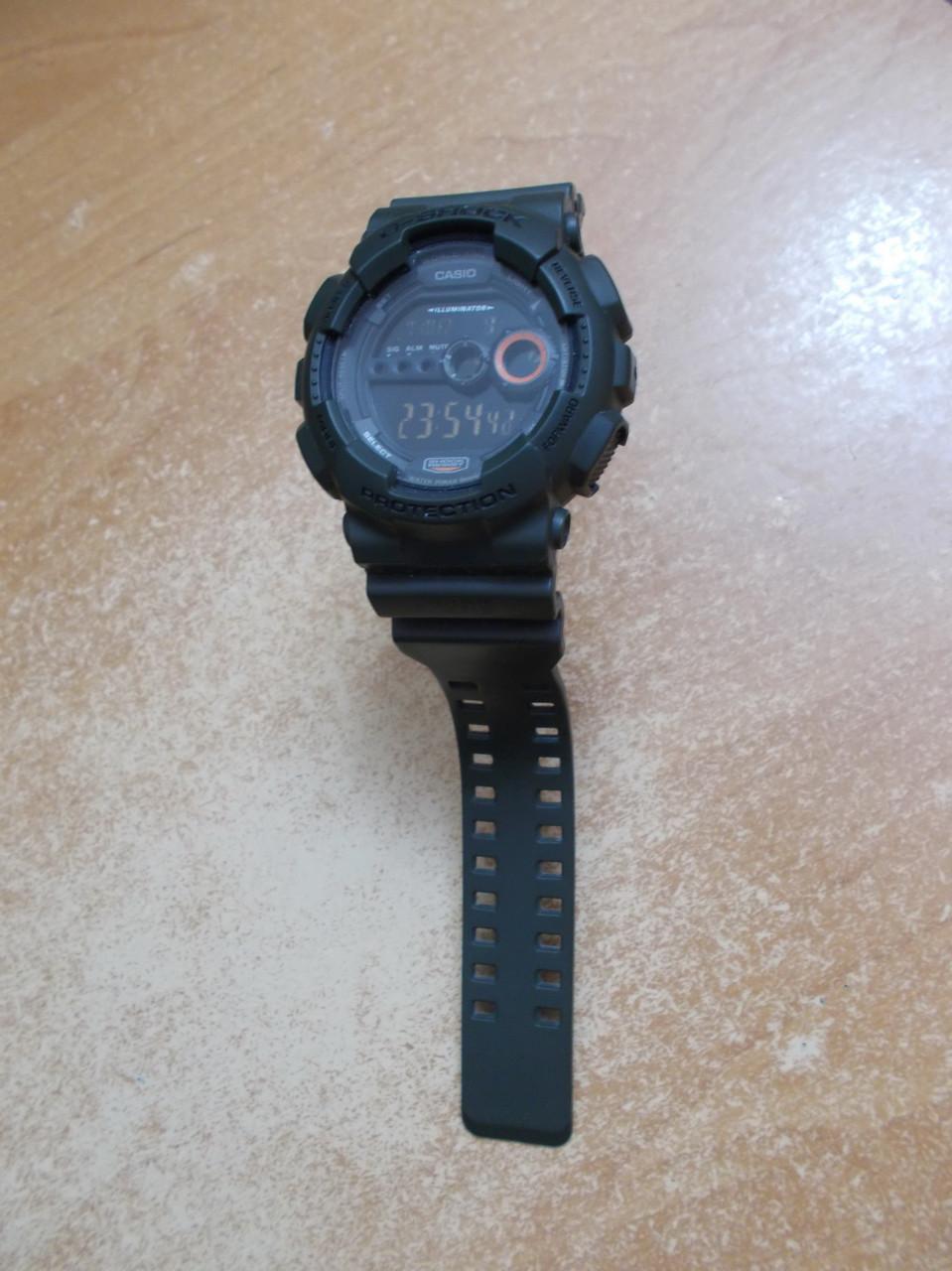 Стандартные объявления. Чоловічий годинник CASIO GD-100MS-3ER(Гарантія) d89d416016050