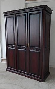 """Шкаф три двери из массива дуба """"Флоренция """""""