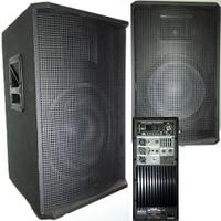 Активная акустическая система Big TIREX500-MP3-BLT-EQ-FM-BIAMP Новинка