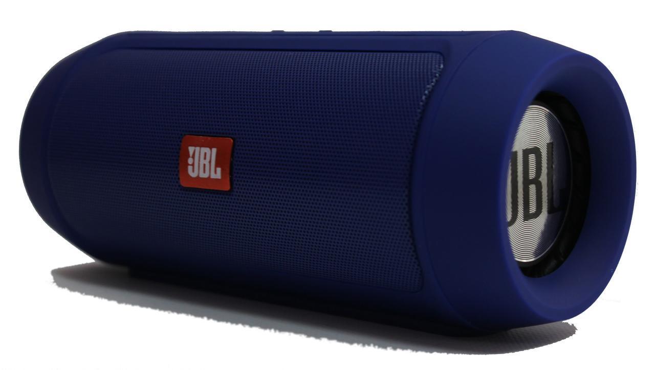 JBL Charge 2 портативная акустическая система 15W, синяя, Bluetooth, реплика