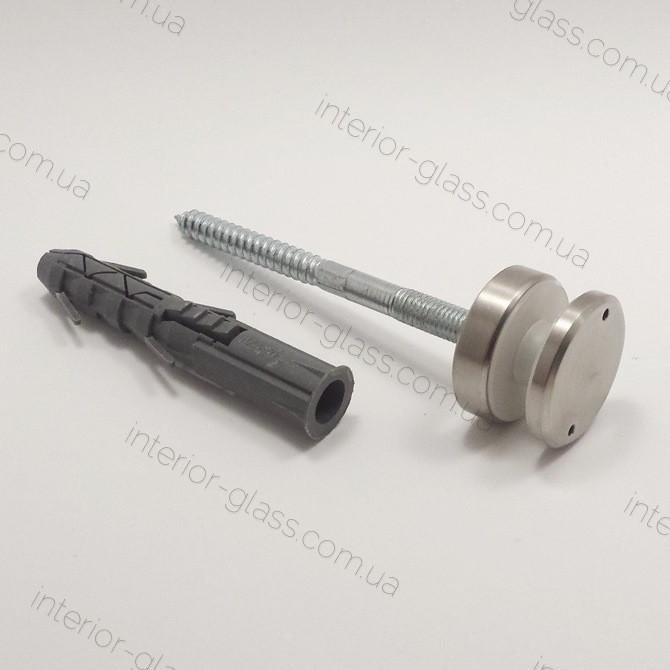 Точечный держатель стекла D=40 мм, толщина шайбы 10 мм, ST-401