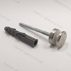 Точечный держатель стекла D=40 мм, толщина шайбы 20 мм, ST-401