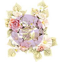 Квіти - Poetic Symphony W.Leaves - Poetic Rose - Prima Marketing - 4 шт.
