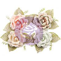 Квіти - Untold Stories W.Leaves - Poetic Rose - Prima Marketing - 4 шт.